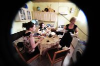 zu Gast am Küchentisch in Russland
