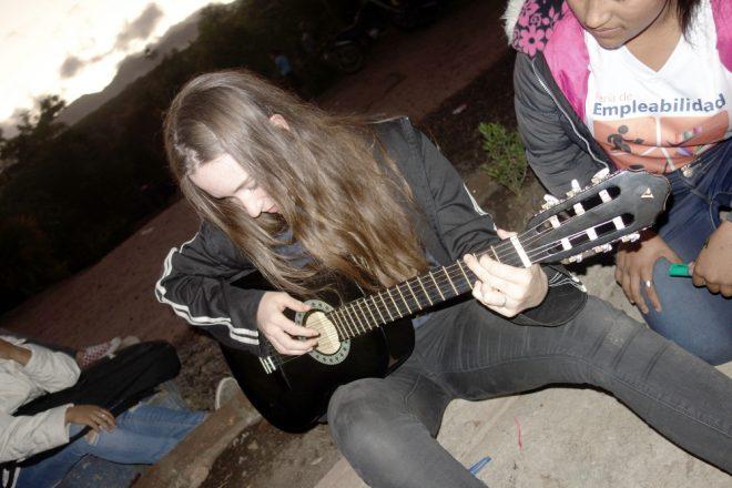 Mit Gitarre leicht zum Smalltalk